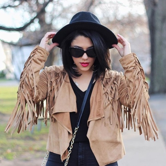 Shop priceless Jackets & Blazers - Fringe Jacket
