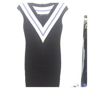 Karen Millen bandage deep v-neck dress