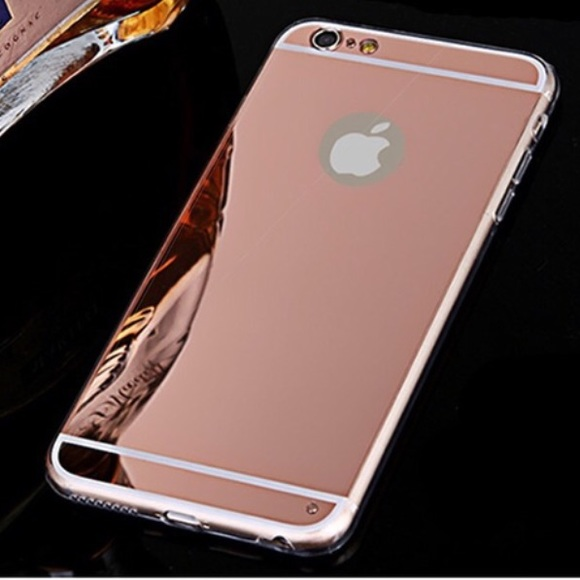 new arrivals 21c79 2083e Rose gold mirror iPhone 6s case Boutique
