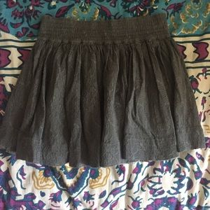 Abercrombie & Fitch Dresses & Skirts - gray lace skirt