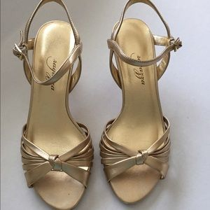 Gold sandals Ragazza