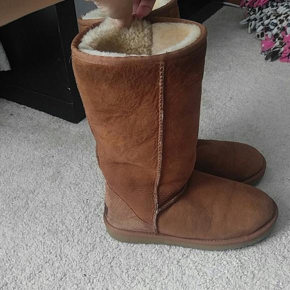 cheap ugg boots chestnut tall