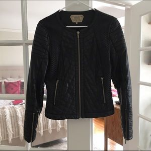 Quilted Leather Zara Jacket