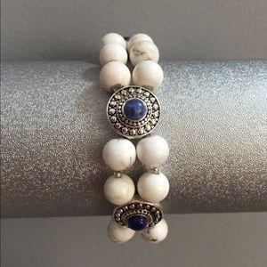 Jewelry - Magnesite double strand bracelet