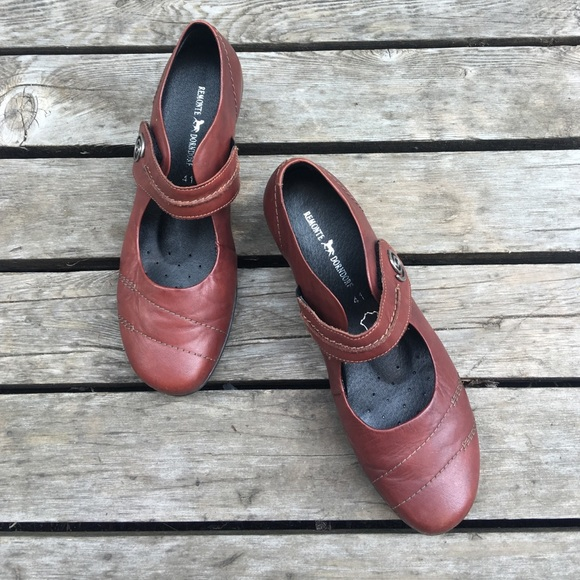 tout neuf 2a16b ad17a REMONTE DORNDORF Leather Burgundy size 41