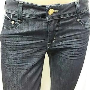 Bebe  dark blue jeans.  SIze 29