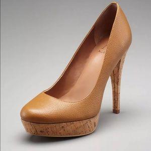 Ava & Aiden Shoes - NWT, Ava & Aiden, Stunning Cognac Platform Heels!