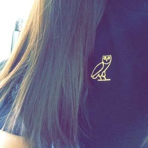 Octobers Very Own Tops - Octobers Very Own Embroidered T-Shirt