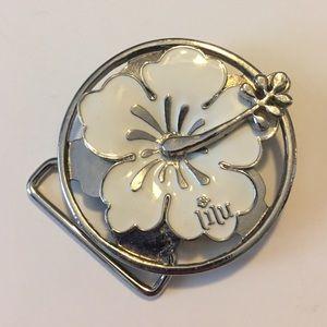 "Lilu Accessories - ""Spinner"" belt buckle"