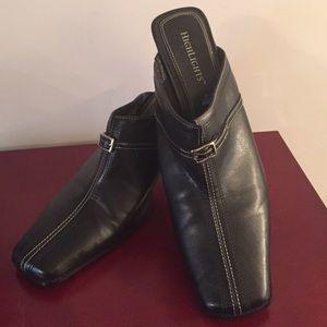 NWOT Black Slip On Shoes