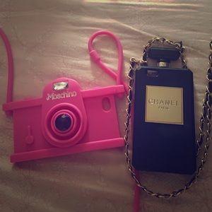 chanel iphone case on poshmark