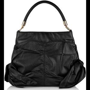 Z Spoke by Zac Posen Handbags - Z Spoke by Zac Posen Black Leather Bag