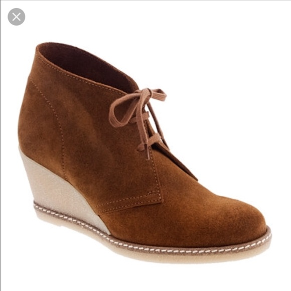 82 j crew shoes j crew macalister wedge boot in