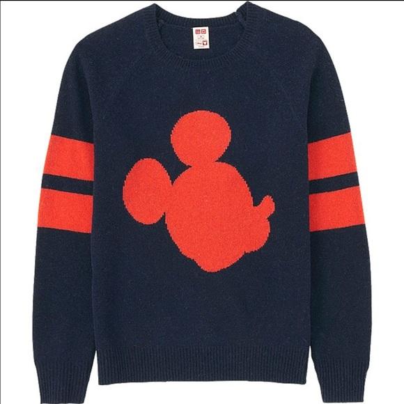 cee80ffc21d UNIQLO x Disney Mickey Sweater. M 57b8dd874127d0cdbc00883c
