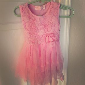 Popatu Other - Popatu pink onesie dress in 12M. Only worn 1X