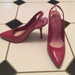 BCBGirls Shoes - BCBGirls hot pink sling back pump