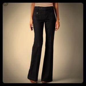 Loft Modern trouser black wash size 10