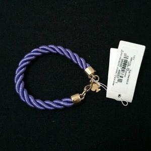 NWT Kate Spade Purple Rope Bracelet