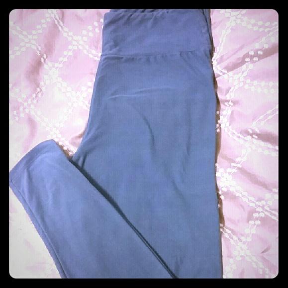 28% off LuLaRoe Pants - TC Blue LulaRoe leggings from Heatheru0026#39;s closet on Poshmark