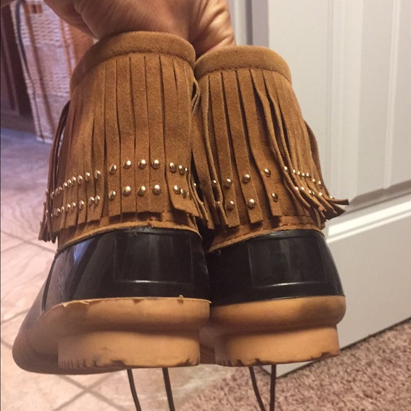 66% off Spool 72 Shoes - Fringe Duck Boots. from Katie's closet on ...