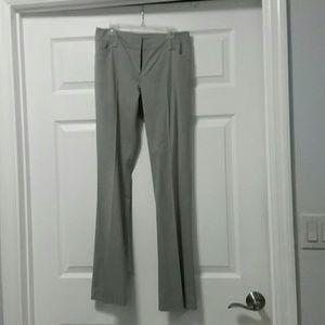 New York and Company Straight Gray Work Pants