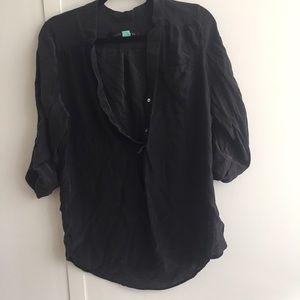 Silky Casual Long Sleeve Shirt