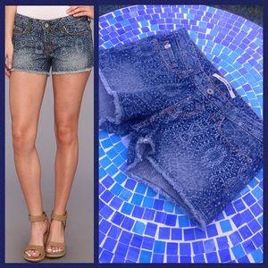 Big Star Pants - NEW!  Big Star 'Remy' low-rise frayed denim shorts