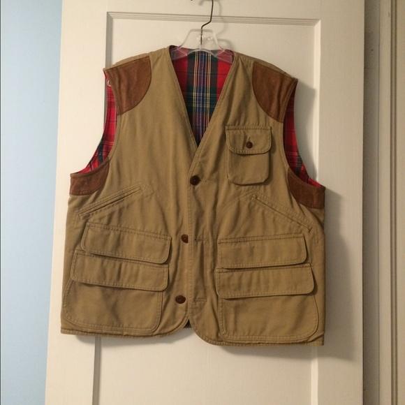 af0392d7025 Vintage Polo Ralph Lauren hunting vest. M 57b8fb932ba50a76e400bcaf
