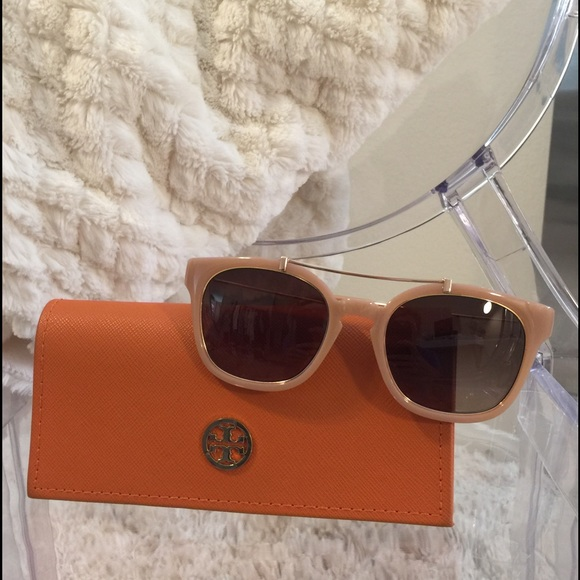 e66163da1a24 Tory Burch Metal Brow Bar Sunglasses. M 57b8fd832ba50a666c00c024