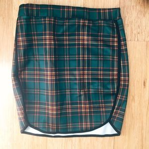 ✨DISCOUNTED✨Plaid Patterned Skirt