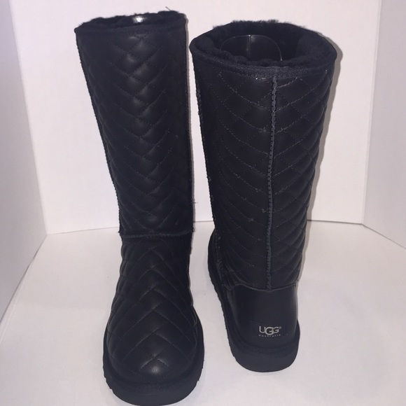 39 Off Ugg Shoes Ugg Australia Quilted Leather Classic