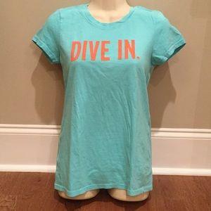 "Kate Spade ""Dive In"" Tee"
