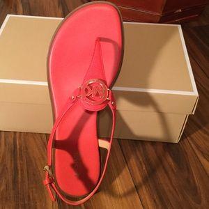 f6148de9e4f5 MICHAEL Michael Kors Shoes - MMK LEE THONG SANDALS 👣