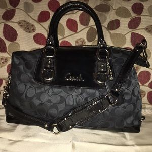 Coach Handbags - Coach Ashley Signature Satchel F15443