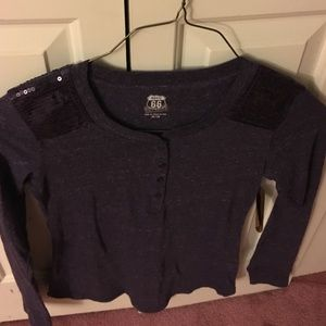 Route 66 purple long sleeve t-shirt. NWT