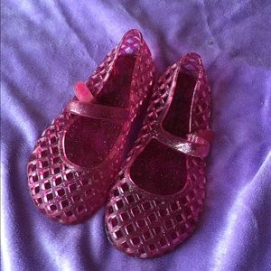 Mary Jane jelly shoes
