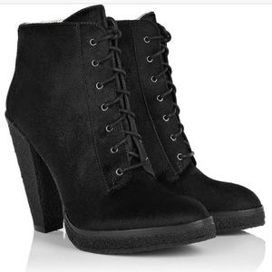 Belle by Sigerson Morrison Shoes - Belle by Sigerson Morrison Suede Booties