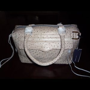 Rebecca Minkoff Handbags - NWT Rebecca Minkoff Ostrich Morning After Bag