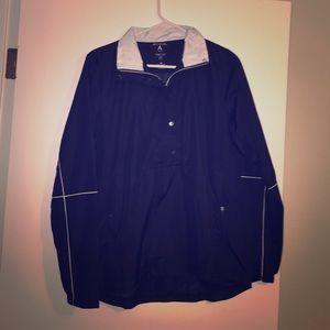 Antigua Jackets & Blazers - Navy Antigua Jacket