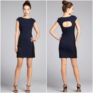 Phoebe Couture Dresses & Skirts - Phoebe Couture :: Cut-Out Back Dress :: Blue/Black