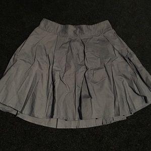 Frenchi Dresses & Skirts - Blue pleated skirt