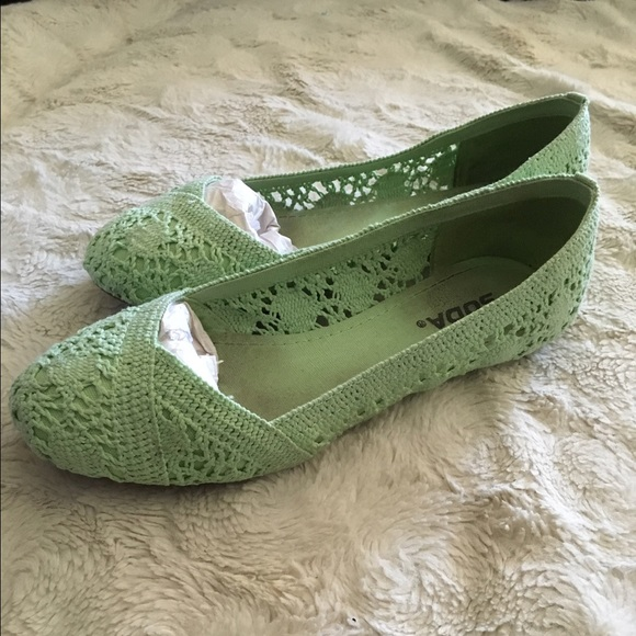 38 soda shoes soda mint colored flats from julie s