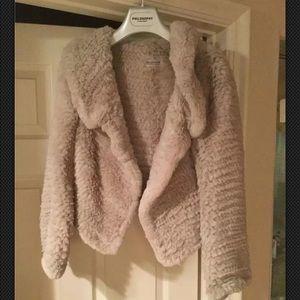 Philosophy di Alberta Ferretti Jackets & Blazers - Philosophy di Alberta Ferretti Rabbit Fur Jacket