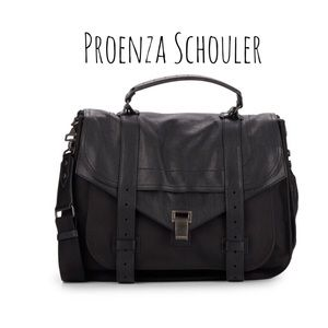 Proenza Schouler Handbags - Proenza Schouler PS1 satchel large black