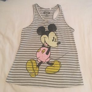 Mickey Mouse graphic tank