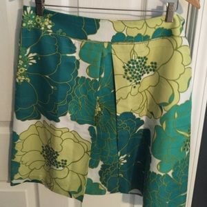 Summery Anne Taylor A-line skirt