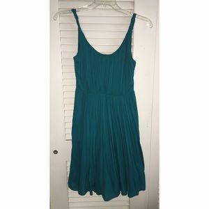 Madewell Teal Sun Isle Dress