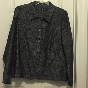1X Button Up Shirt NWOT
