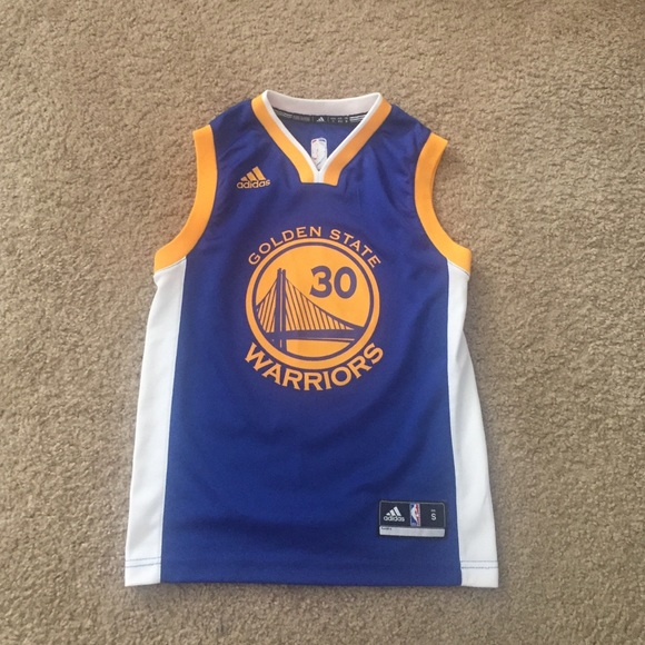 the latest 238bd 7294b Adidas Kids Steph Curry Jersey