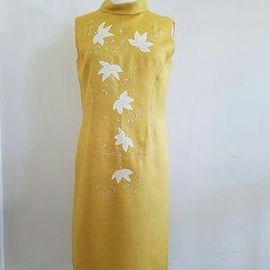 Dresses & Skirts - Vintage Yellow Dress